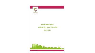EnergieAkkoord Greenport West Holland